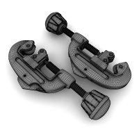 3D визуализация продукции. Труборез 3D-модель.
