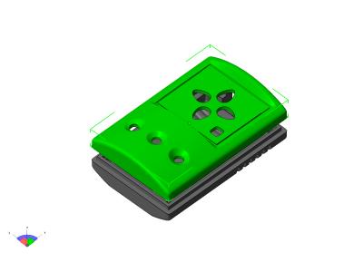 3D-модель корпуса