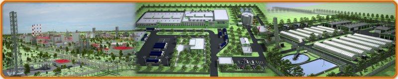 Архитектурная анимация. Видео-презентации промышленных объектов.